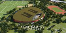 Sportcampus Zuiderpark te Den Haag
