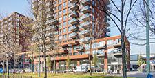 Wonen boven de hoven te Delft